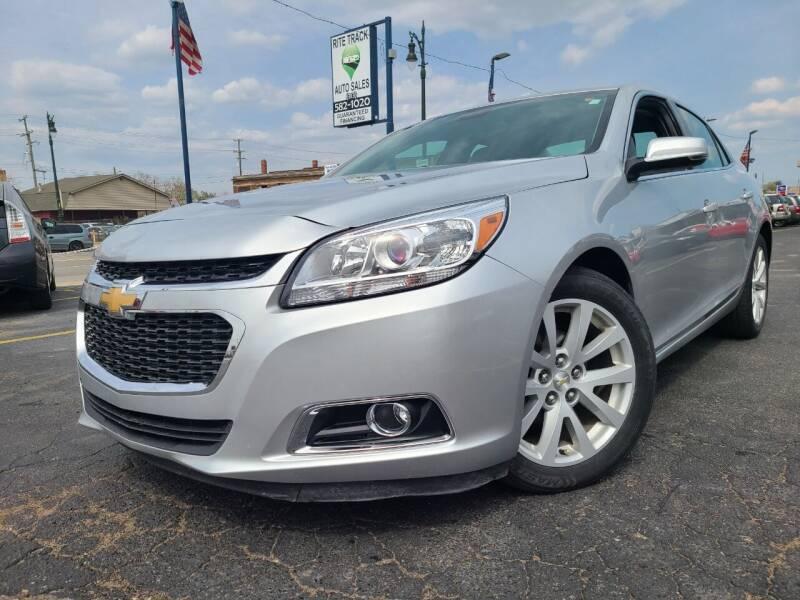 2014 Chevrolet Malibu for sale at Rite Track Auto Sales in Detroit MI