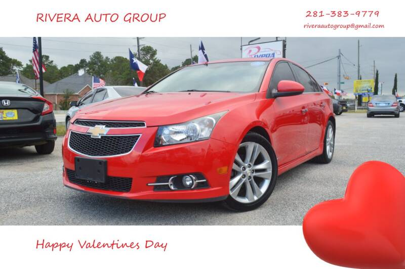 2014 Chevrolet Cruze for sale at Rivera Auto Group in Spring TX