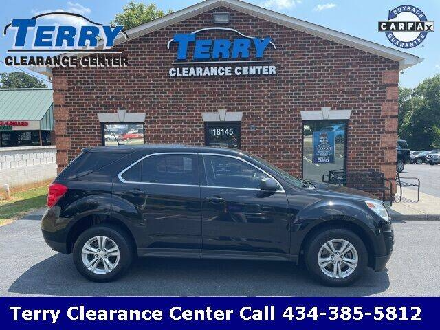 2014 Chevrolet Equinox for sale at Terry Clearance Center in Lynchburg VA