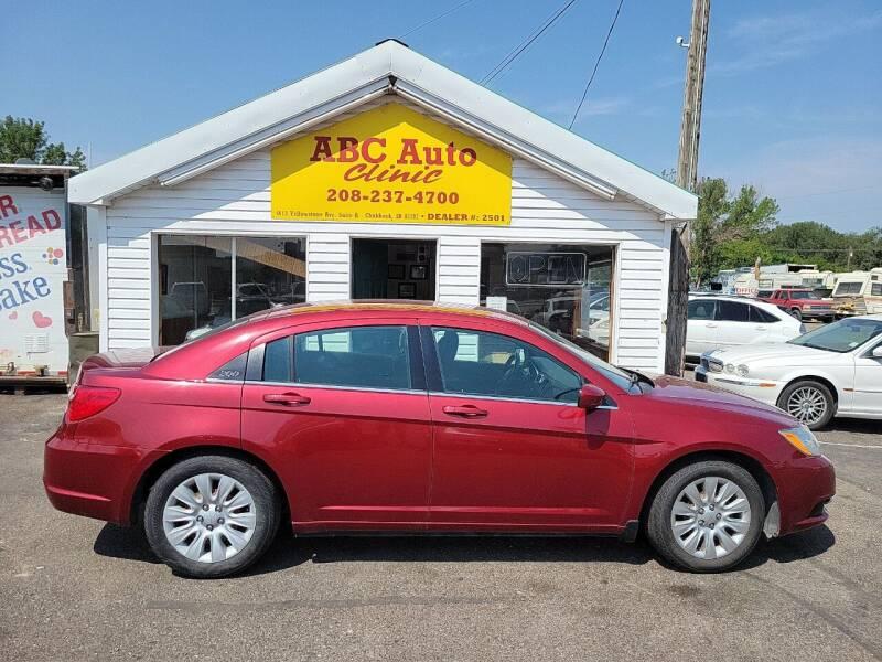 2013 Chrysler 200 for sale at ABC AUTO CLINIC CHUBBUCK in Chubbuck ID