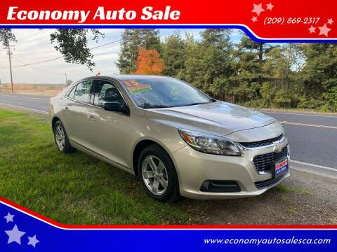 2015 Chevrolet Malibu for sale at Economy Auto Sale in Modesto CA