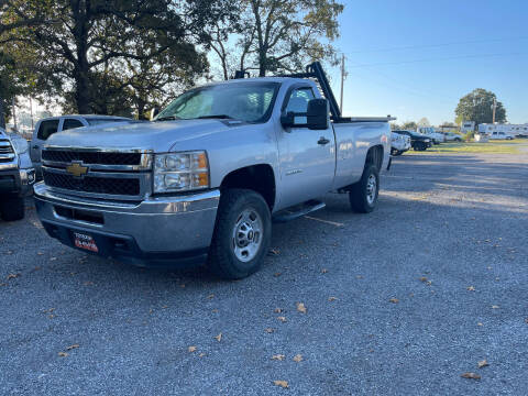2012 Chevrolet Silverado 2500HD for sale at TINKER MOTOR COMPANY in Indianola OK