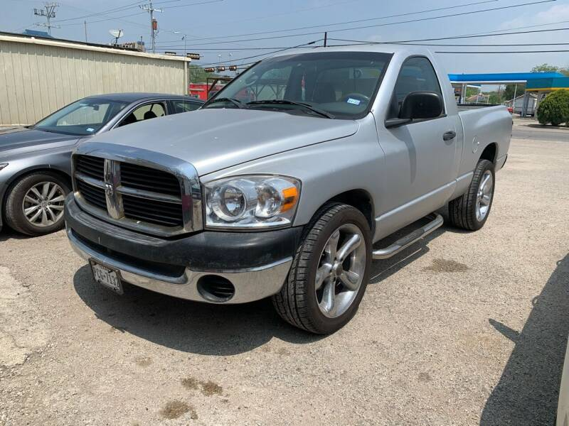 2007 Dodge Ram Pickup 1500 for sale at VARA AUTOPLEX in Seguin TX