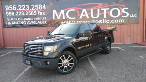 2010 Ford F-150 for sale at MC Autos LLC in Pharr TX
