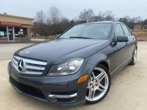 2013 Mercedes-Benz C-Class for sale at Gwinnett Luxury Motors in Buford GA