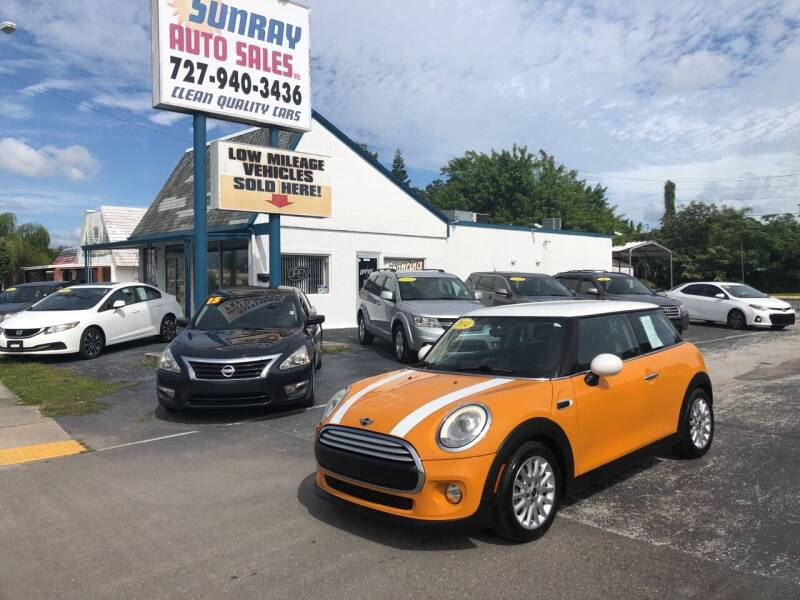 2014 MINI Hardtop for sale at Sunray Auto Sales Inc. in Holiday FL