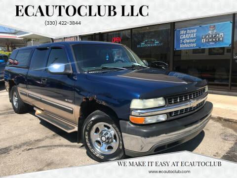 2002 Chevrolet Silverado 1500 for sale at ECAUTOCLUB LLC in Kent OH