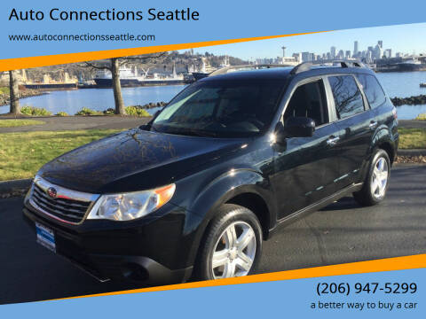 2010 Subaru Forester for sale at Auto Connections Seattle in Seattle WA
