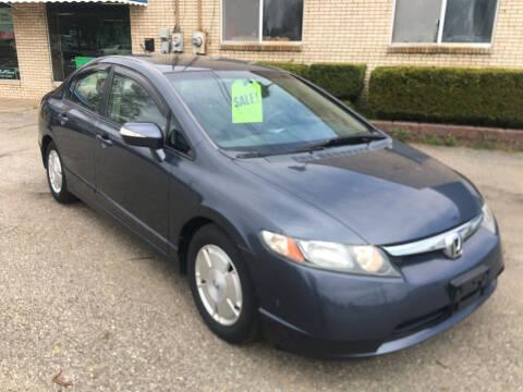 2006 Honda Civic for sale at K O Motors in Akron OH