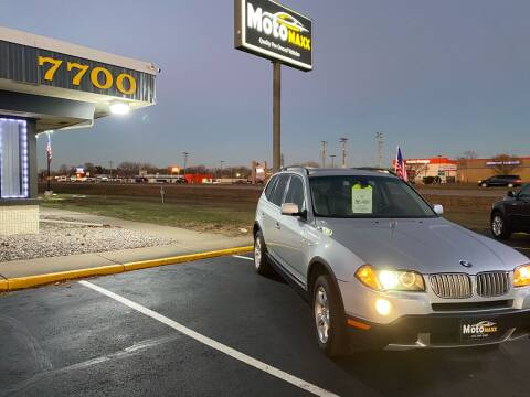 2007 BMW X3 for sale at MotoMaxx in Spring Lake Park MN