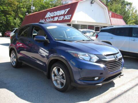 2017 Honda HR-V for sale at Discount Auto Sales in Pell City AL