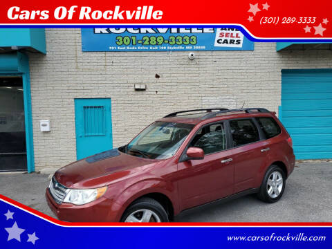 2009 Subaru Forester for sale at Cars Of Rockville in Rockville MD