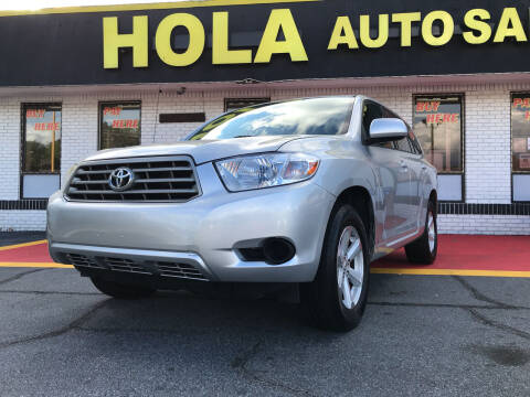 2008 Toyota Highlander for sale at HOLA AUTO SALES CHAMBLEE- BUY HERE PAY HERE - in Atlanta GA