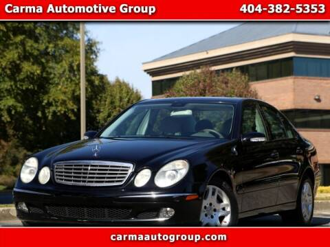 2005 Mercedes-Benz E-Class for sale at Carma Auto Group in Duluth GA