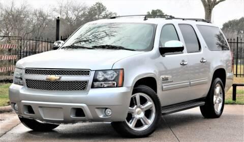 2011 Chevrolet Suburban for sale at Texas Auto Corporation in Houston TX