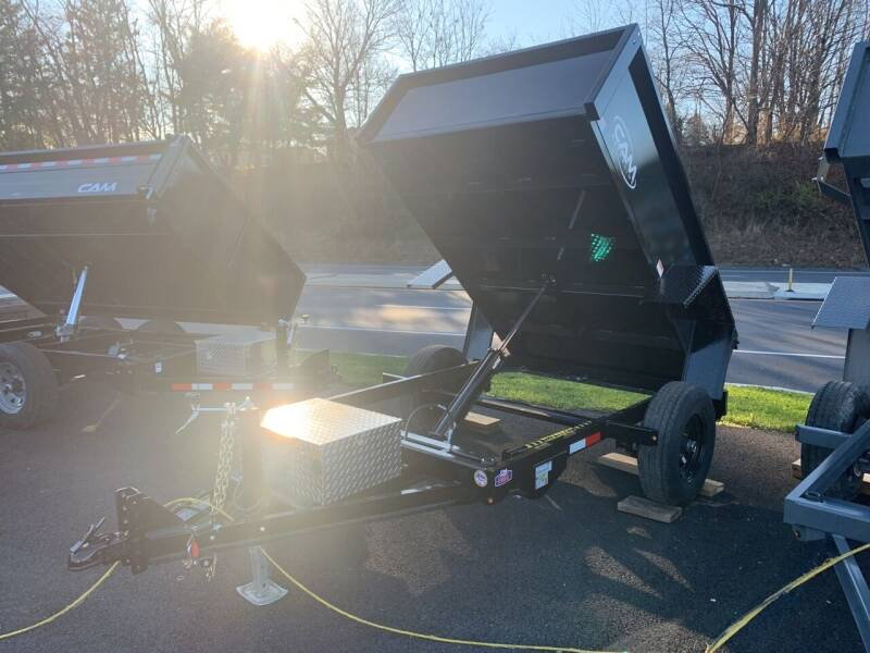 2021 Cam Superline 5x8 Dump 5k for sale at Smart Choice 61 Trailers in Shoemakersville PA