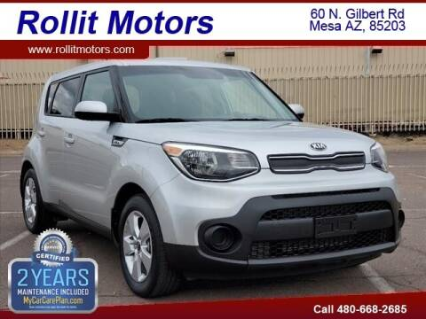 2018 Kia Soul for sale at Rollit Motors in Mesa AZ