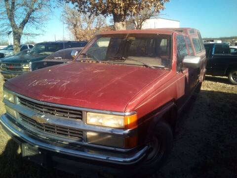 1990 Chevrolet C/K 1500 Series for sale at KK Motors Inc in Graham TX