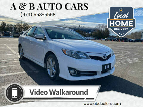 2014 Toyota Camry for sale at A & B Auto Cars in Newark NJ