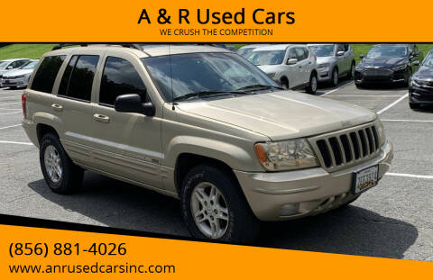 2000 Jeep Grand Cherokee for sale at A & R Used Cars in Clayton NJ
