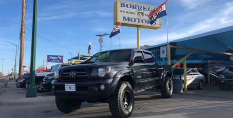 2010 Toyota Tacoma for sale at Borrego Motors in El Paso TX