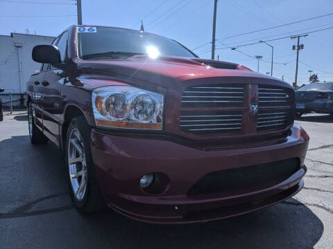 2006 Dodge Ram Pickup 1500 SRT-10 for sale at GREAT DEALS ON WHEELS in Michigan City IN