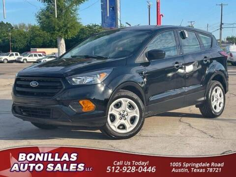 2019 Ford Escape for sale at Bonillas Auto Sales in Austin TX