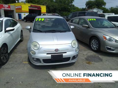 2012 FIAT 500 for sale at Marino's Auto Sales in Laurel DE