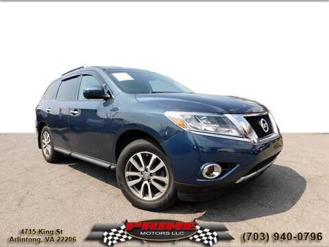 2013 Nissan Pathfinder for sale at PRIME MOTORS LLC in Arlington VA
