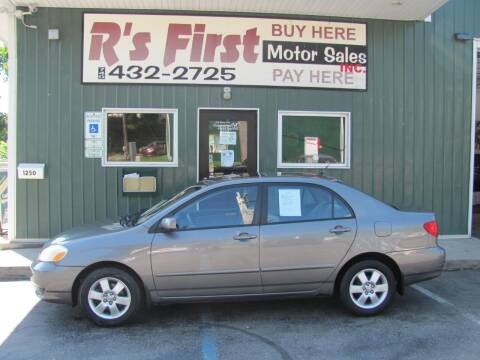 2004 Toyota Corolla for sale at R's First Motor Sales Inc in Cambridge OH