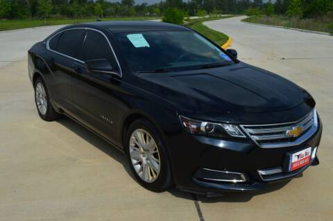2015 Chevrolet Impala for sale at Fincher's Texas Best Auto & Truck Sales in Tomball TX