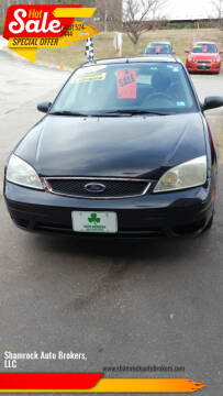 2007 Ford Focus for sale at Shamrock Auto Brokers, LLC in Belmont NH