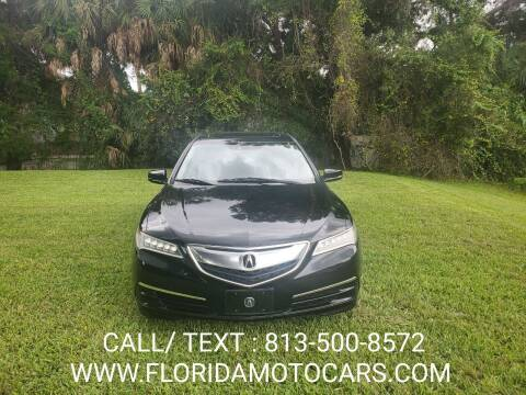 2015 Acura TLX for sale at Florida Motocars in Tampa FL