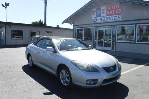 2007 Toyota Camry Solara for sale at 777 Auto Sales and Service in Tacoma WA