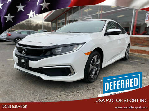 2019 Honda Civic for sale at USA Motor Sport inc in Marlborough MA