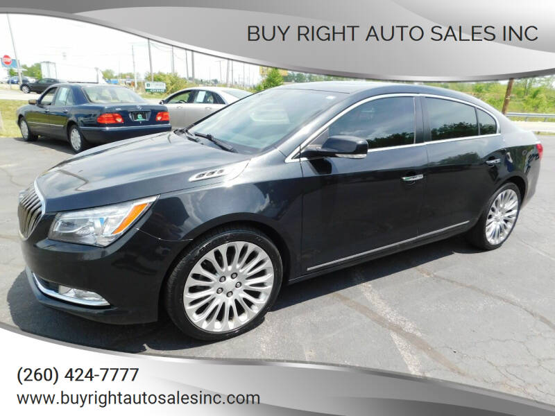 2014 Buick LaCrosse for sale at Buy Right Auto Sales Inc in Fort Wayne IN