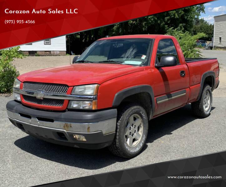 2005 Chevrolet Silverado 1500 for sale at Corazon Auto Sales LLC in Paterson NJ