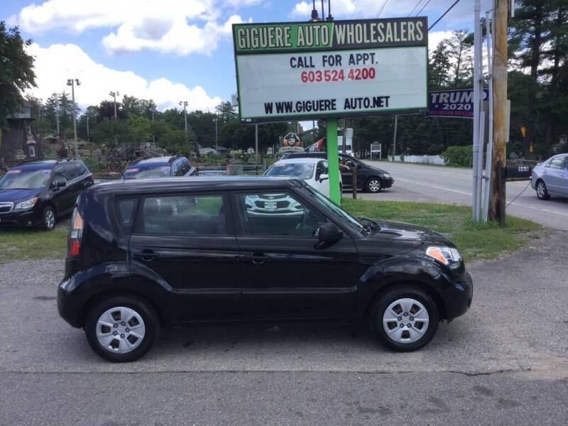 2011 Kia Soul for sale at Giguere Auto Wholesalers in Tilton NH