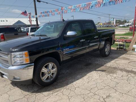 2013 Chevrolet Silverado 1500 for sale at BULLSEYE MOTORS INC in New Braunfels TX