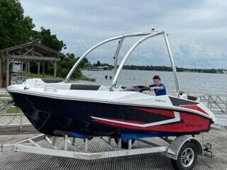 2021 SEALVER WAVE BOAT 444 BW for sale at MG Auto Center LP in Lake Park FL
