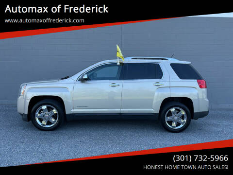 2013 GMC Terrain for sale at Automax of Frederick in Frederick MD