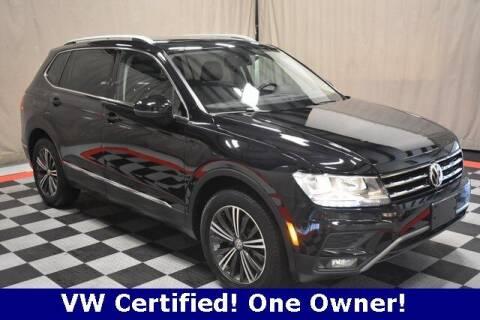 2018 Volkswagen Tiguan for sale at Vorderman Imports in Fort Wayne IN