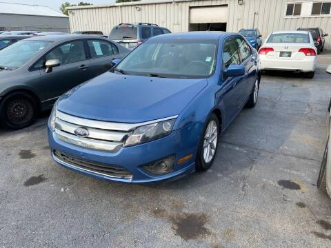 2010 Ford Fusion for sale at Lakeshore Auto Wholesalers in Amherst OH