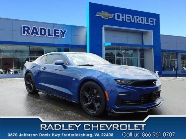 2020 Chevrolet Camaro for sale at Radley Cadillac in Fredericksburg VA