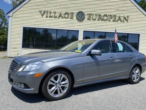 2011 Mercedes-Benz E-Class for sale at Village European in Concord MA