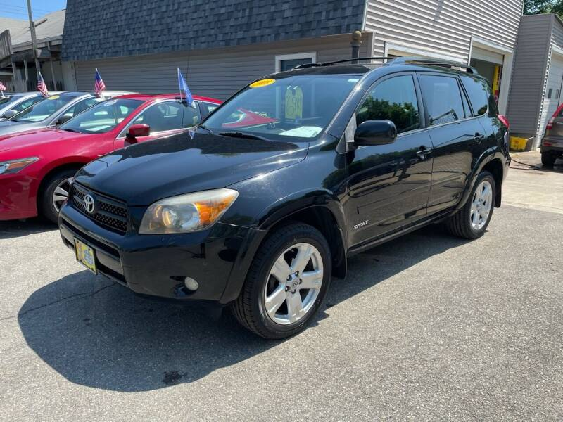 2008 Toyota RAV4 for sale at JK & Sons Auto Sales in Westport MA