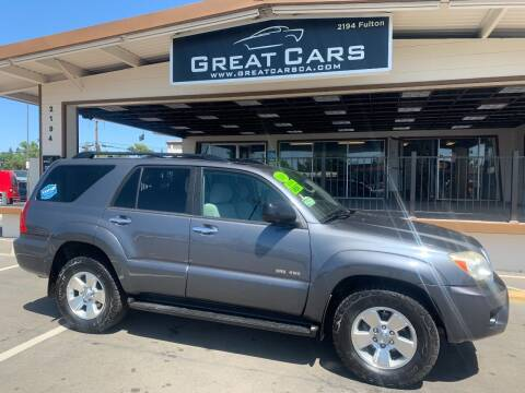 2008 Toyota 4Runner for sale at Great Cars in Sacramento CA