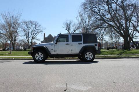 2009 Jeep Wrangler Unlimited for sale at Lexington Auto Club in Clifton NJ