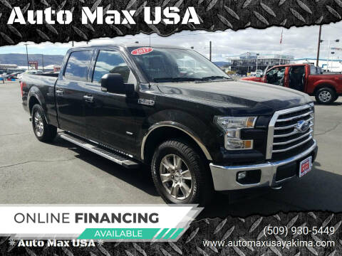 2017 Ford F-150 for sale at Auto Max USA in Yakima WA