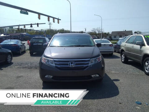 2012 Honda Odyssey for sale at Marino's Auto Sales in Laurel DE